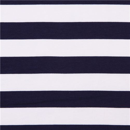 white-Riley-Blake-knit-fabric-with-navy-blue-stripes-185364-1