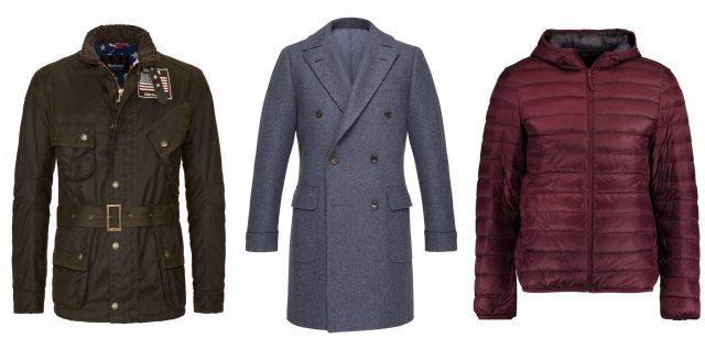 okładka męskie kurtki i płaszcze