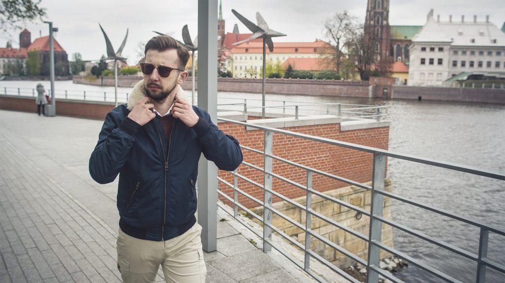 bomber jacket blog moda męska