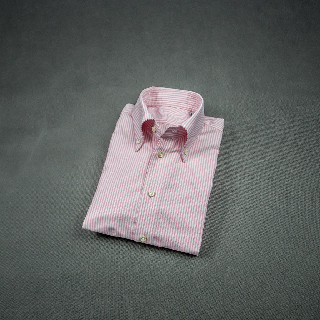 koszula-ocbd-oxford-różowa-zack-roman-letni-styl-casual