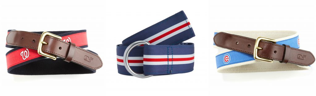 nautical belts paski parciane marynistyczny styl