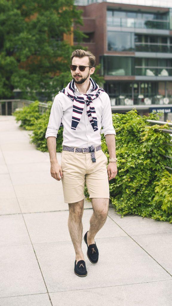 styl-marynistyczny-szorty-koszula-ocbd-pleciony-pasek-tassel-loafers-łódka-4