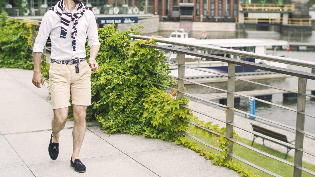 styl-marynistyczny-szorty-koszula-ocbd-pleciony-pasek-tassel-loafers-łódka-2